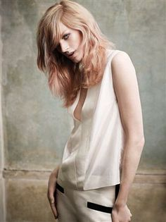 """""""Color is still rocking for spring, we've just turned down the volume a bit"""" - @Josh Lam Wood, #Undone @Wella Professionals"""