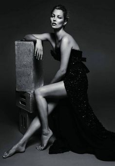 Kate Moss Vogue France. Love.this. Love love love this. Reminds me of the night sky. :)