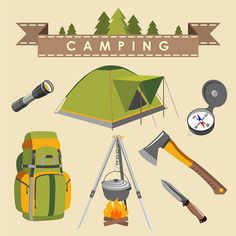 What you should have in your camping bag? Take a look at some essential items you must have when going on camping.