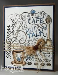 Image result for heartfelt creations coffee cards gallery