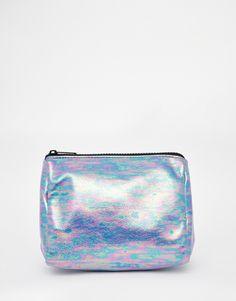 ASOS Metallic Make Up Bag