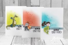 Stampin with Liz Design: Magical Day Cards!