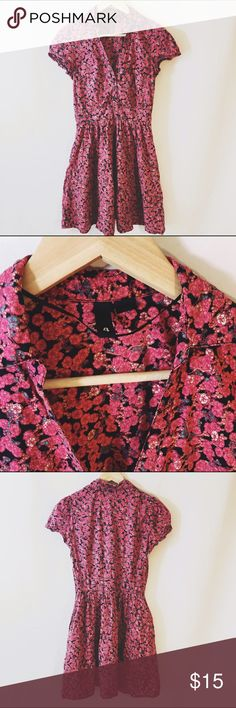 H&M cute pink floral sundress In great condition, no tears or stains. Gently used. H&M Dresses