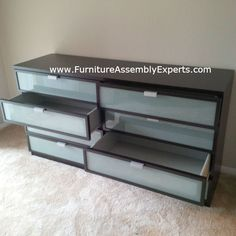 ikea hopen dresser assembled in baltimore MD for a UMBC student by Furniture Assembly Experts LLC