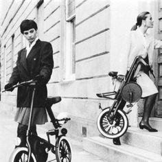 Strida's Folding bikes