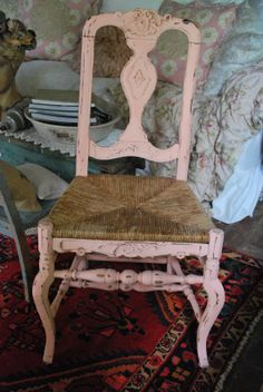 Beautiful rustic chair ~