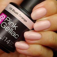 Pink Gellac 105 Blush Orange Gel-Nagellack via pinkgellac.de