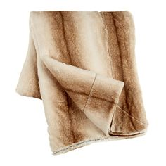 Vertical Brown Stripe Faux Fur Throw - Christmas Tree Shops and That! - Home Decor, Furniture & Gifts Store