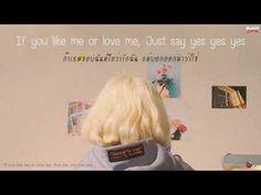 [Karaoke Thaisub] Tell Me You Love Me (좋다고말해) - 볼빨간사춘기 (Bolbbalgan4) - YouTube