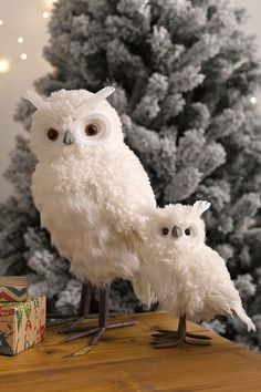 Buy White Owl Ornament online | Shop EziBuy Home