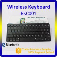 Gaming keyboard 2.4G Bluetooth 3.0 mini Wireless Keyboard for iPad Mac Computer PC Macbook