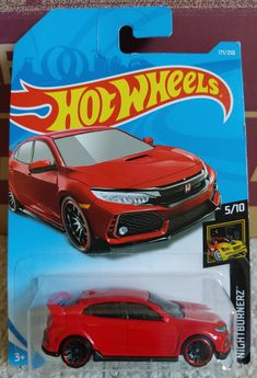 Hot Wheels Case, Honda Civic Type R, 1, Toys, Cars, Templates, Ballerina Silhouette, Scale Model Cars, Ballerinas