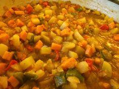 Fleischlos-lecker: Süßkartoffel-Curry