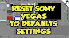 [HINDI] Reset Sony Vegas to Its Original Setting : Sony Vegas Pro 13 #011