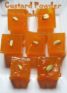 YUMMY TUMMY: Custard Powder Halwa Recipe