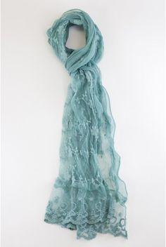 Type 2 Subtle Sweet Scarf Turquoise