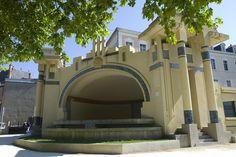 L'auditorium près du Jardin de l'Abbaye de Vierzon