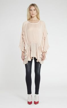IRO HANCOCK TOP - PINK SAND. #iro #cloth #