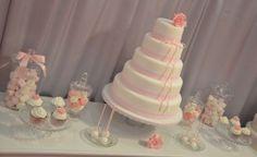 sweet table rose et blanche salon du mariage toulouse