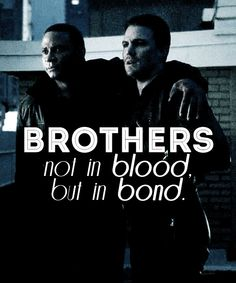 Arrow - Oliver and Diggle, besties for life