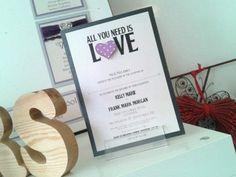 Wedding invitations. The Beatles.