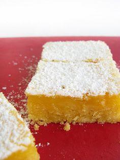 lemon bars..delicious :)