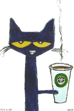 "Pete the Cat ""Meowbuck II"" by James Dean at A T HUN Art Gallery, Savannah, GA."