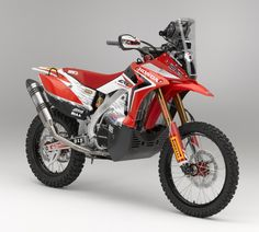 Twowheels+: CRF450 Rally