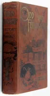 ODD-FELLOWSHIP-ITS-HISTORY-MANUAL by THEO R. ROSS, 1895