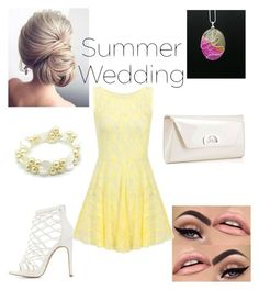 """#summerwedding"" by ericarae-1 on Polyvore featuring Christian Louboutin and Charlotte Russe"