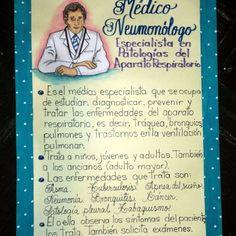 Lámina para exponer sobre el Médico Neumonólogo. #misdibujos #misdiseños #láminaparaexponer #lámina #escuela #colegio #carteleras #teacher #class #teacherstools #school #homework #maestra #profesor #didáctica #pedagogía #neumonólogo #profesiones #professional