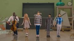 [Official Video] Papaoutai – Pentatonix ft. Lindsey Stirling (Stromae Cover) - YouTube