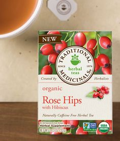 Rose Hips with Hibiscus - Traditional Medicinals