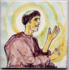 LUIS DESENHA: Santo António de Lisboa