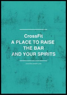 Truth - only thing that worked this week. #Crossfit