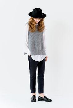 MANIERA - foldable felt soft hat   RECOMMEND   Bshop inc.(ビショップ)