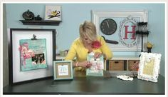 Here is a great episode on how to make clip frames :) Cute!