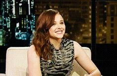 Chloe At Chelsea Lately Live Show Yesterday 11 p.m. #ChloeMoretz #cmoretznews