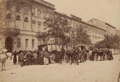 Warszawa w 1870 roku Aleje Jerozolimskie