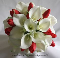 Google Image Result for http://www.sharonnagassardesigns.com/1131306-Red-White-CallaLily-Tulips/1131306-Red-White-CallaLily-Tulips-BridalBouquet-Top-c.jpg
