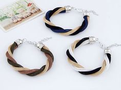 Vintage Fashion Bracelet - Twisted
