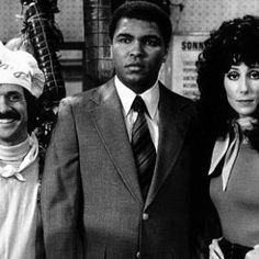 Ali with Sonny and Cher