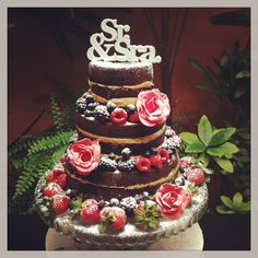 Naked cake é tendência para casamentos – Casamento em Gramado