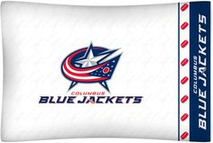 ATHLEZ - Columbus Blue Jackets Micro Fiber Pillow Case Logo