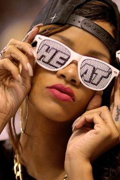 Rihanna The Miami Heat Fan Beyonce, Rihanna, Heat Team, Nikki Mudarris, Nba Miami Heat, Love And Basketball, Basketball Teams, White Heat, Bring The Heat
