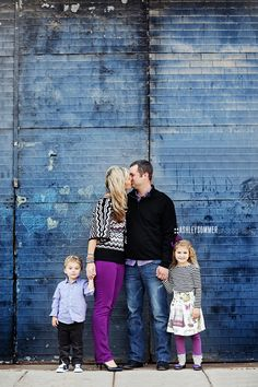 .families: wear coordinating colors but don't get too matchy matchy :) love the purple here!