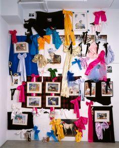 Karen Kilimnik, Horses, Bows, & Guns, 1991