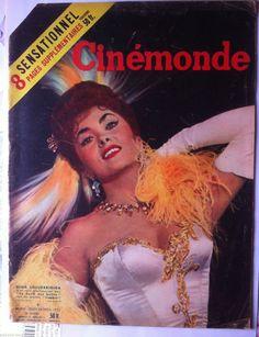 Cinemonde DU 24 11 1955 Gina Lollobrigida Arletty I Bergman Dany Robin | eBay