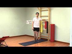 Protocollo esercizi per il ginocchio - YouTube
