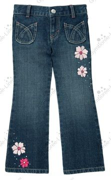 NWT Gymboree Glamour Ballerina Gem Flower Jean - Size 12 - 1 available - $20 shipped